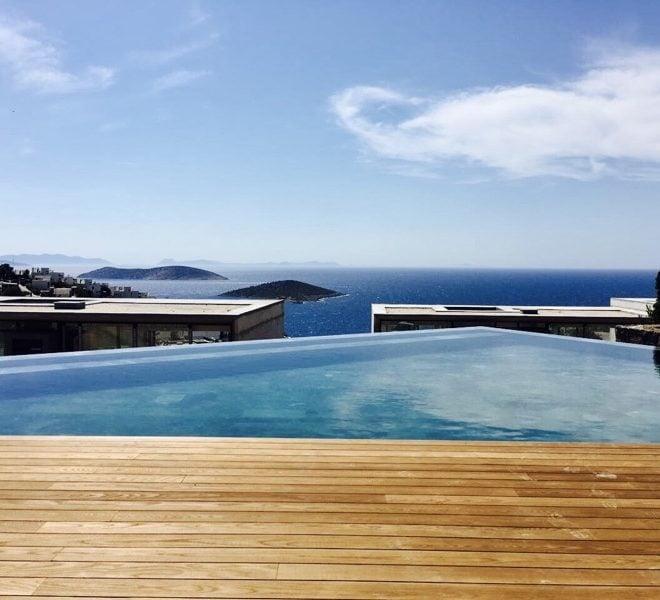 Bodrum Yalıkavak Jacaranda Estates infinity pool