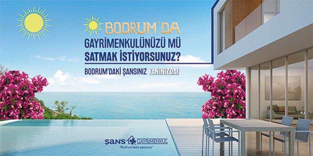 Bodrum Gündoğan'da Deniz Manzaralı ve Özel Plajlı Satılık Daire